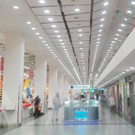 Освітлення торгового залу
